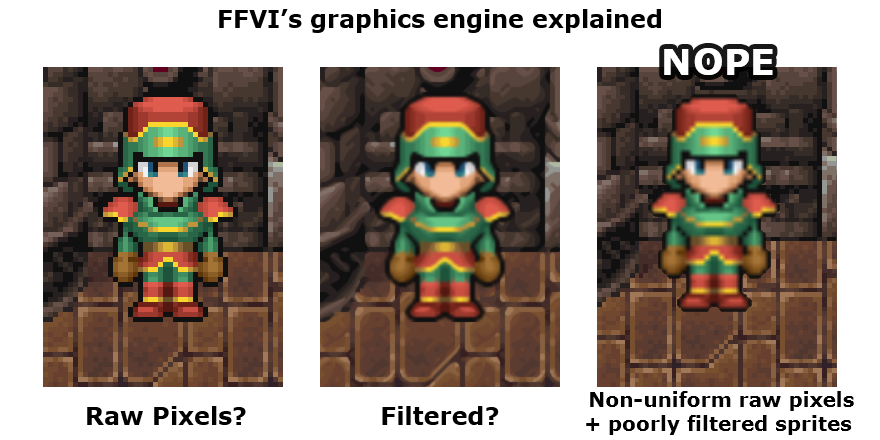 Doing an HD Remake the Right Way: FFVI Edition