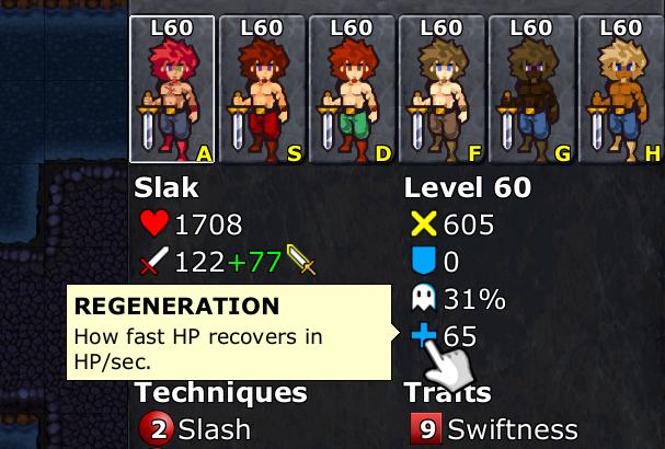 Mouse-over tooltip on defender stats