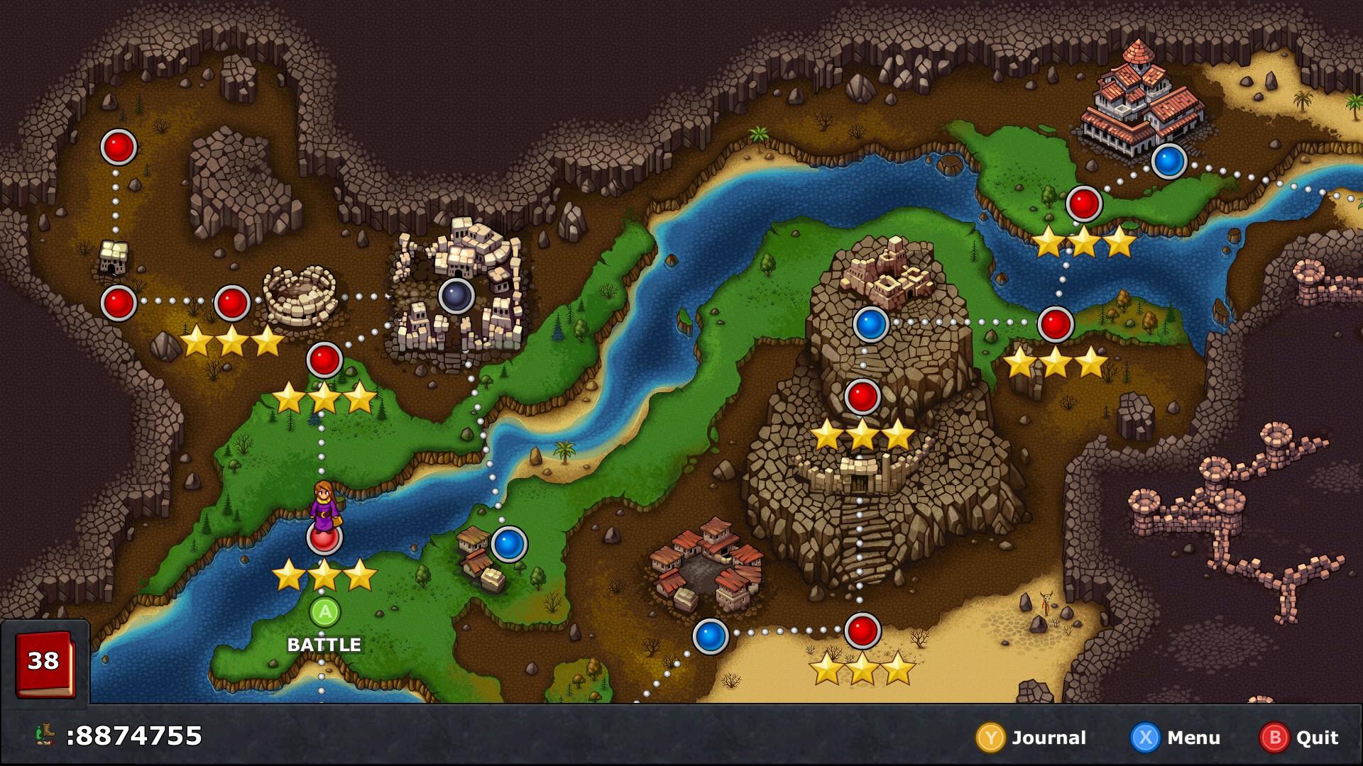Overworld w/ Gamepad