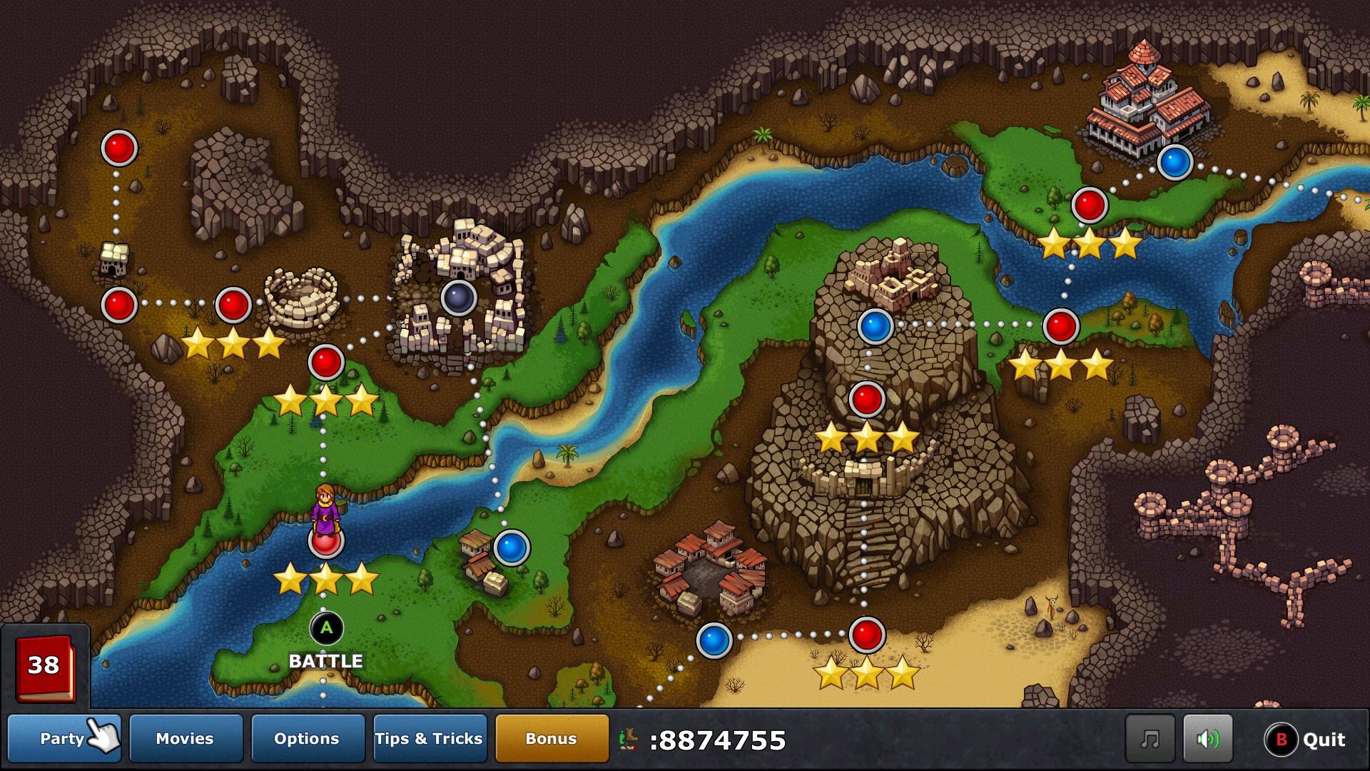 Overworld w/ Steam Controller