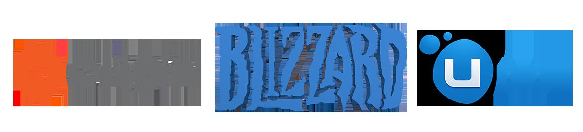 Origin, Uplay, Blizzard