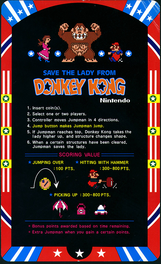 Donkey_Kong_-_Instruction_Page